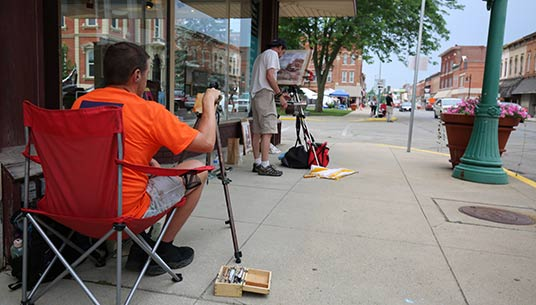 2018 Plein Air contestants